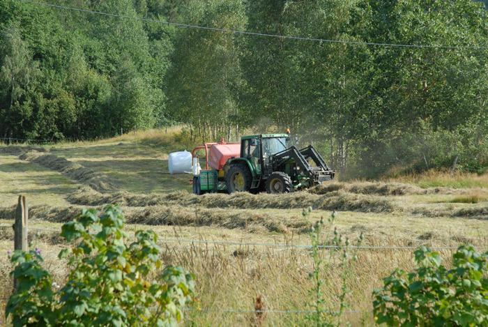 Lager traktoregg